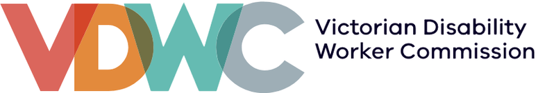 VIC Disability Worker Commission logo