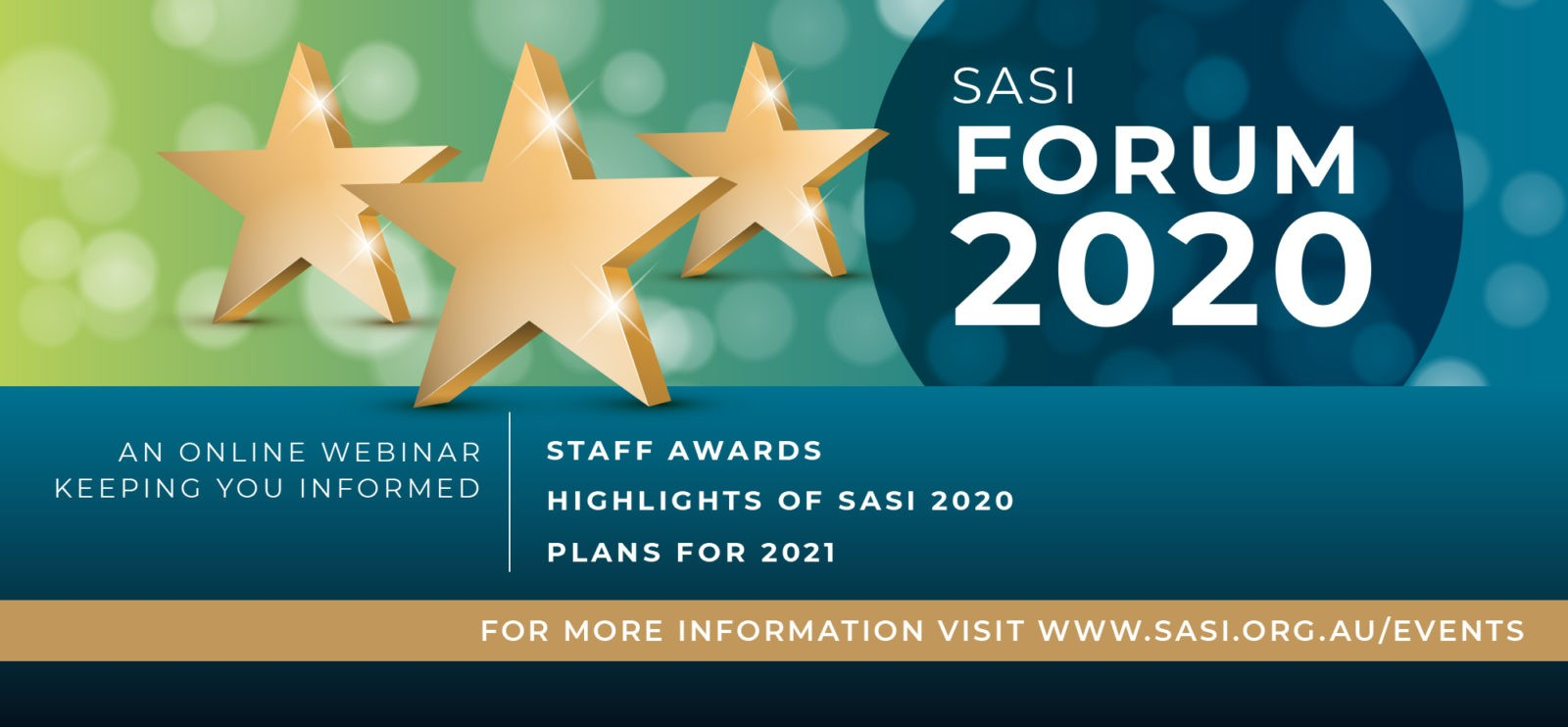 SASI Virtual Forum Banner