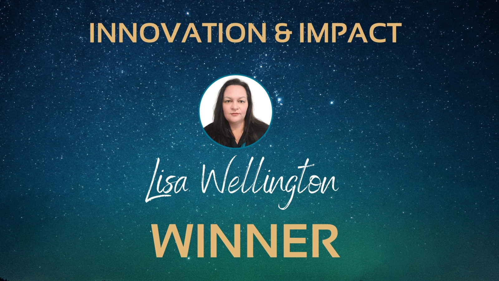 Lisa Wellington staff awards winner